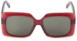 Celine 60MM Square Sunglasses