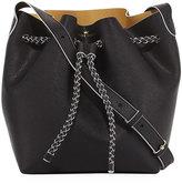 Elaine Turner Designs The Reserve Leather Bucket Bag, Black