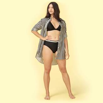 Summersalt The All Buttoned Up Cover-Up