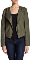 Cupcakes And Cashmere Genuine Leather Jacket