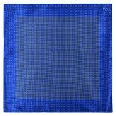 Canali Abstract Circle Print Pocket Square