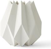 Menu Porcelain Oragami Folded Vase
