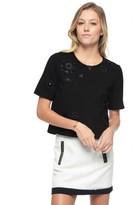 Juicy Couture Embellished Ponte Top