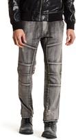 Rogue Destructed Slim Fit Moto Jeans
