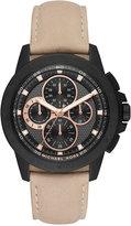 Michael Kors Men's Chronograph Ryker Light Brown Leather Strap Watch 43mm MK8520