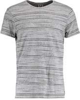 Ragwear Skywatch Print Tshirt Light Grey Melange