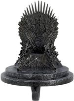 Kurt Adler Game Of Thrones Iron Throne Christmas Stocking Holder by