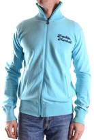 Franklin & Marshall Men's Light Blue Cotton Sweatshirt.