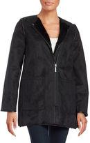 Michael Kors Reversible Faux Fur Jacket