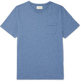 Oliver Spencer Envelope Mélange Cotton-Jersey T-Shirt