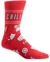 Yo Sox Chill Mid-Calf Crew Socks