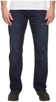 Buffalo David Bitton Driven Straight Leg Jeans in Dark Blue Wash Men's Jeans