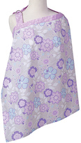 Trend Lab Purple Floral Grace Nursing Cover