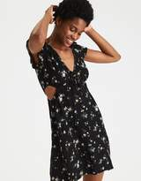 American Eagle Outfitters AE Swingy Side Cutout Dress