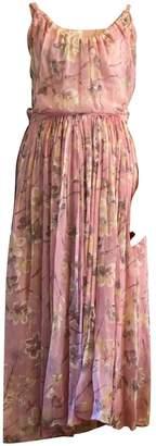 Balenciaga Pink Silk Dresses