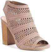 Lauren Conrad Women's Cutout Ankle Boots