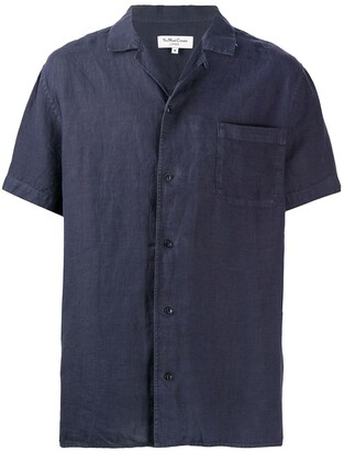 YMC Malick loose-fit linen shirt