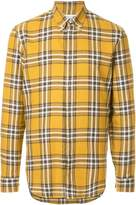 Maison Margiela plaid buttondown shirt