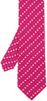J.Mclaughlin Italian Silk Twill Tie In Micro Floral
