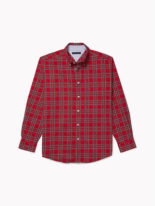 Tommy Hilfiger Classic Fit Plaid Shirt