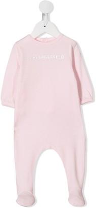 Karl Lagerfeld Paris Logo Print Pajamas