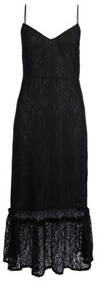 Dorothy Perkins Womens Vila Black Lace Camisole Midi Dress, Black