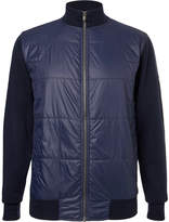 Dunhill Links - Newmill Quilted Shell And Wool Zip-up Golf Jacket