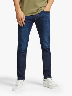 Edwin ED-80 Regular Fit Tapered Jeans, Dark Used Blue