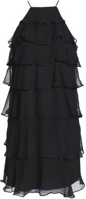 Bailey 44 Tiered Silk-chiffon Mini Dress