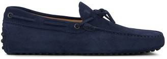 Tod's Tods Rubber Mocassin Blue