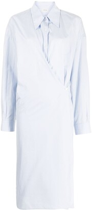 Lemaire Wrapped Midi Shirtdress