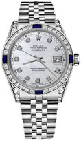 Rolex Datejust Stainless Steel & White Mother Of Pearl Dial 31mm Unisex Watch