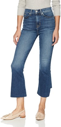Hudson Women's Holly HR Crop Flare (BK DET)