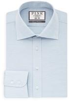 Thomas Pink Julius Herringbone Dress Shirt - Bloomingdale's Regular Fit