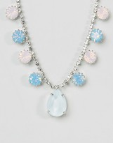 Krystal Swarovski Crystal Pear Drop Necklace