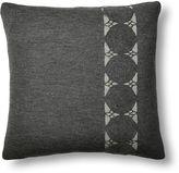 Sefte Paya 24x24 Crochet Sham, Charcoal