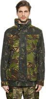 G Star Camo Cotton Gabardine Field Jacket