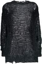 IRO distressed knit jumper