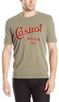 Lucky Brand Men's Castrol Motor Oil Graphic Tee