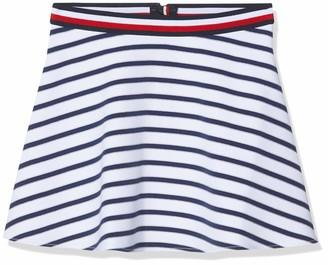 Tommy Hilfiger Girl's Essential Stripe Skater Skirt
