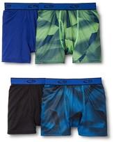 Champion Boys' 4-Pack Boxer Briefs - Multicolored