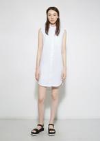 Alexander Wang Band Collar Shirt Dress