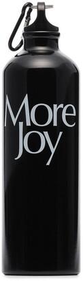 More Joy Logo Print Water Bottle