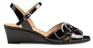Aerosoles Hornet Patent Wedge Sandals