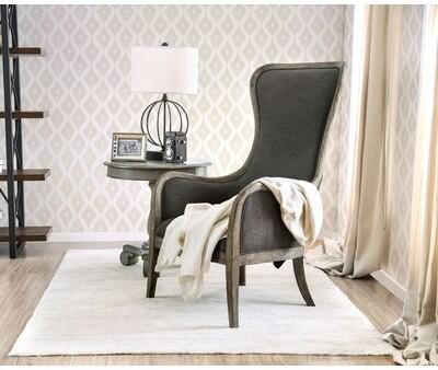 """One Allium Way Aliff 28"""" Wide Polyester Armchair"""