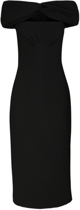 Emilia Wickstead Double Crepe Cutout Dress