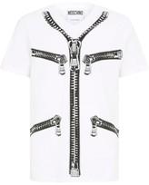 Moschino Zip Logo T-Shirt