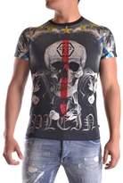 Philipp Plein Men's Multicolor Cotton T-shirt.