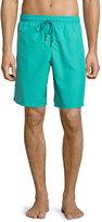 Vilebrequin Okoa Solid Boardshorts, Green