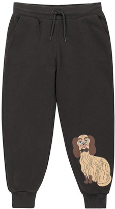 Mini Rodini Dashing Dog cotton sweatpants